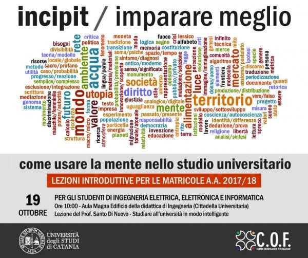 Incipit Ingegneria Elettrica Elettronica E Informatica